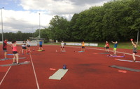 Athletiktraining Juli 200Bild