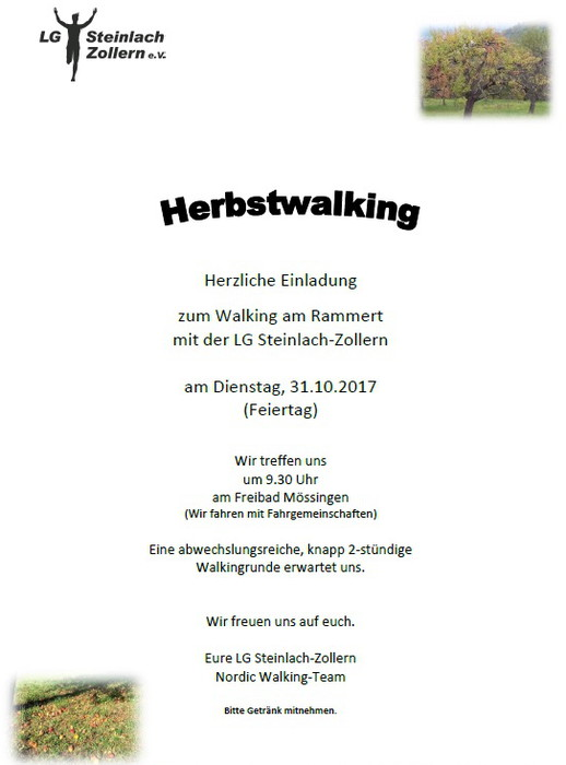 Herbstwalking 2017